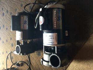 1 new never used and 1 rebuilt spa hot tub pump. Executive 56