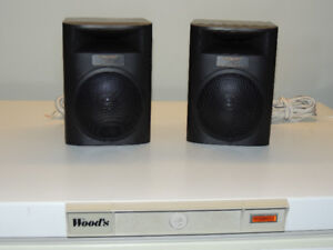 Pioneer S-X7A Rear (surround) Speakers- 16 ohm 45 watts
