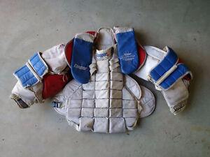 Goalie chest and arm protector - plastron de gardien