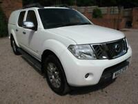 2013 Nissan Navara Double Cab Pick Up Outlaw 3.0dCi V6 231 4WD Auto PRISTINE! NO