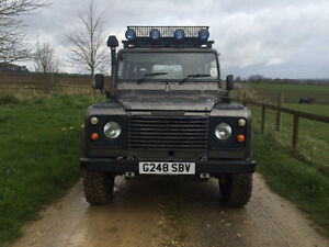 Land Rover Defender 110 V8 galvanized chassis Peterborough Peterborough Area image 2
