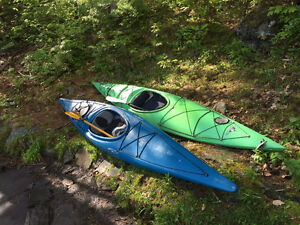 PAIR OF KAYAKS FOR SALE - GREAT CONDITION - PADDLES INCLUDED!