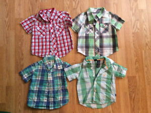 12-18 month short sleeve shirts