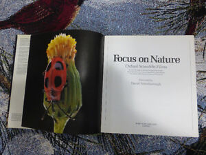 Book - Focus on Nature by Gerald Thompson Kitchener / Waterloo Kitchener Area image 3