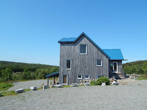 Beautiful Eco Timber Frame/Post & Beam Home for Sale in NS