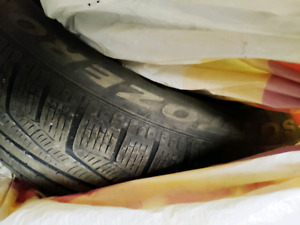Run flat Winter Tires 225 45 R18 for BMW