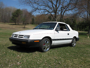 1991 Dodge Shadow Convertible IN NEW CONDITION LOADED NEW TIRES