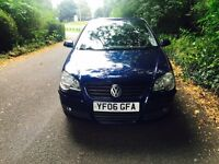 2006 Volkswagen Polo 1.4 Se Midnight Blue Metallic
