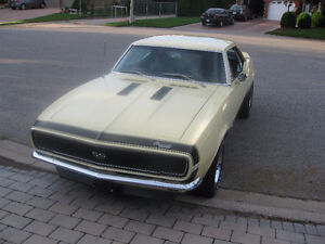 1967 Chev Camaro SS with RS package numbers matching.