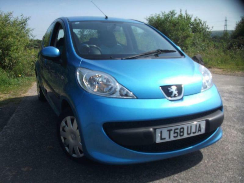 2008 58 PEUGEOT 107 1.0 URBAN MOVE 5D 68 BHP **LOW MILEAGE** **LOW TAX**