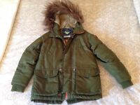 Next age 5 winter jacket. Good condition. Won't be disappointed. Only £10.