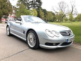 2003 Mercedes Benz SL Series SL 55 AMG 2dr Auto 2 door Convertible