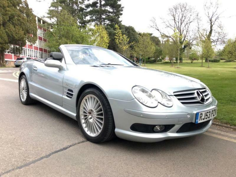 2003 Mercedes Benz Sl Series Sl 55 Amg 2dr Auto 2 Door