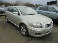 2007 Toyota Avensis 2.2D-4D 180 MY T180 VERY LOW MILEAGE 2 KEEPERS FULL HISTORY