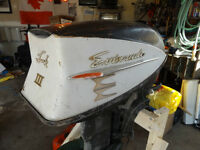 33HP Evinrude outboard for Parts or repair