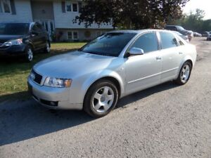 2004 AUDI A4 QUATTRO AWD - 1.8T AUTO 179,000 KM $2600. AS IS