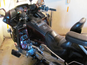1989 goldwing 1600 with reverse and trailer