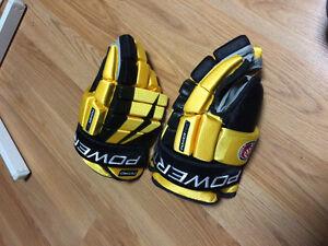 Hockey gloves barely used