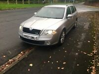2007 07 Skoda octavia vrs 2.0 turbo new shape