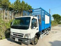2008 MITSUBISHI CANTER 7C18 CAGE TIPPER GARBAGE RUBBISH CLEANRANCE TAIL-LIFT 7.5