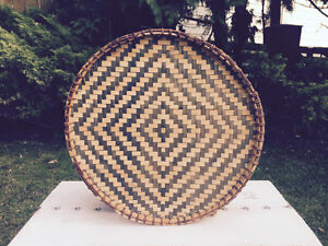 Wicker Platter for Slae