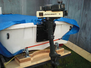 Johnson 1.5 horsepower outboard