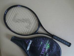 Spalding Tennis Racket & Case Great Condition Cambridge Kitchener Area image 2