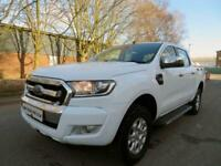 2017 67 Ford Ranger XLT 2.2 TDCi Pickup Double CAB White Damaged Salvage