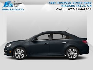 2015 Chevrolet Cruze LT  REMOTE START,REARCAM,BLUETOOTH,ONE OWNE