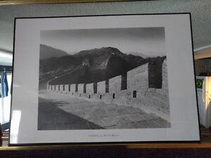 2 Large Photo Art Prints w/ metal frames ($25 ea, $35 for both)