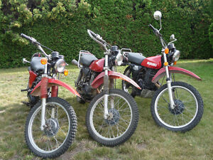 Package Deal 3 - 1978 Suzuki SP 370 Enduro Price reduced OBO.