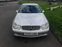 MERCEDES CLK200 KOMPRESSOR AVANTGARDE - Only 73000 Miles