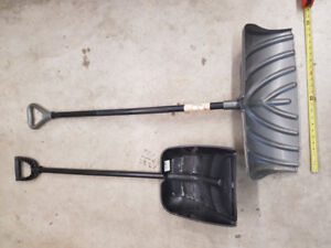 Snow shovels, a few times used, good condition.     $10 each I l