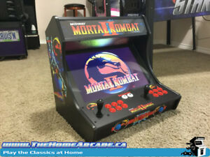 New The Home Arcade Bartop Cabinet with over 7,100 games & Wty