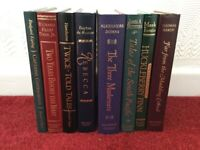 Readers Digest Books x 8 with Decorative Gilt Spines