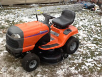 Lawn tractor (reduced) price