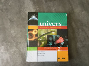 Univers, Manuel de l'élève 2