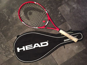 Women's Head Brand Tennis Racket with Case