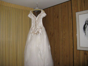 Beautiful Wedding Ballroom Gown with Cathedral Train
