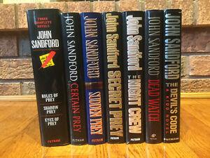 John Sandford Hardcover Books