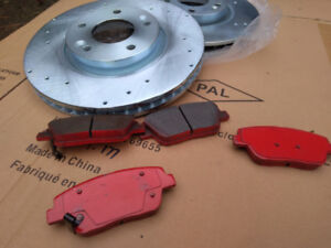 Kia/Hyundai New Front Brake Pads & Rotors