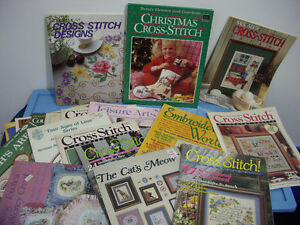 Christmas Cross stitch books,patterns and others Moose Jaw Regina Area image 2