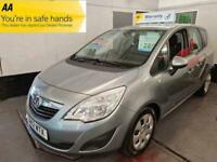 2012 Vauxhall Meriva 1.4 EXCLUSIV AC MPV Petrol Manual
