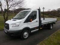 FORD TRANSIT 350 125PS L4 14FT DROPSIDE PICKUP 16 REG 22,400 MILES