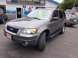 2006 ford escape 4x4 leather loaded  cert etested