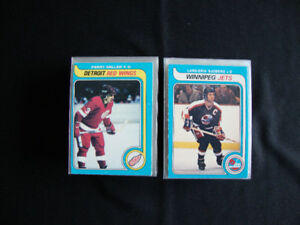 1979-80 O-PEE-CHEE HOCKEY CARD LOT