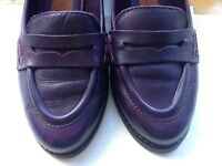 Original leather clarks size 5 pump