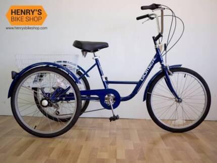 Gomier Trike 24in 6 Speed - Tricycle