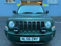 2009 JEEP PATRIOT Limited 2.0CRD *4x4* FULL LEATHER, LONG MOT_WARRANTY-SERVICED