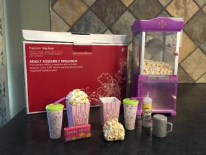 American Girl Popcorn Machine